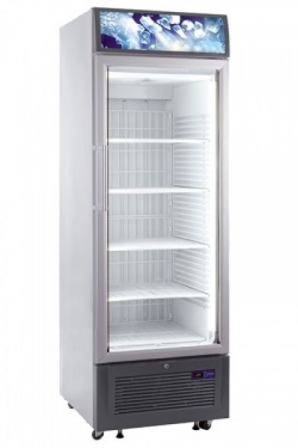 Single glass door upright freezer freezer refrigerators freezers - Glass door refrigerator freezer ...