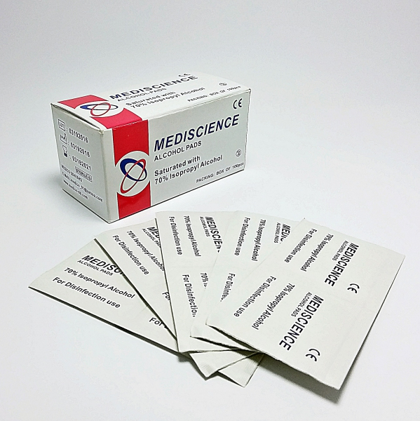 Sterile Alcohol swab 100's (10 Boxes)