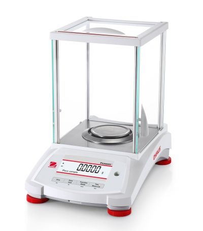 Analytical Balance, Pioneer PX, 220g x 0.1mg, External Calibration