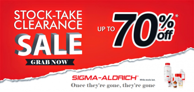 SIGMA ALDRICH CHEMICAL (STOCK CLEARANCE SALES)