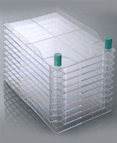 NEST BioFactory™  10 Chambers, Double Wide Mouth, Vent Cap