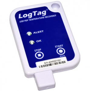 LogTag USB PDF Temperature Recorder (-25 to +70°C) with Alert Function; supplied w Built in Sensor