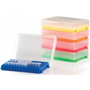 HS 96-Well PCR® Rack, pk5, Assorted colours