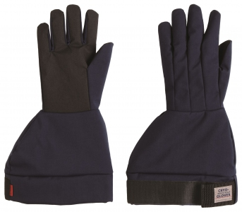 "Tempshield Cryo-Gloves, Gauntlet Length, 17""-18 ¾"", Industrial Grade (Waterproof)"