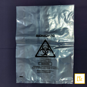Biohazard Bag, Small Size, 300x400mm