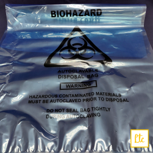 Biohazard Bag, Large Size, 500x750mm