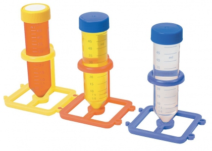 HS 1-Well Interlocking Rack for 50mL Tubes, asstd.pk5