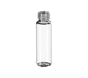20ml Clear vial, 18mm screw top,Flat Bottom