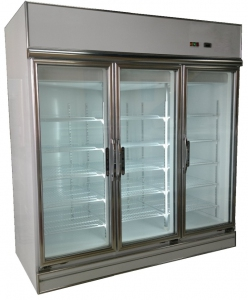 Taiwan Pharmaceutical 3-Glass Door Display Chiller