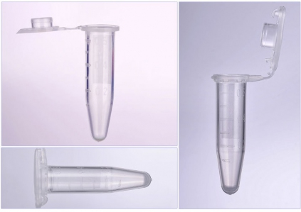 0.6ml Microcentifuge tubes, Clear