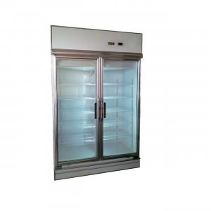 Taiwan Pharmaceutical 2-Glass Door Display Chiller