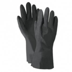 Ansell 29-865 Neoprene Unsupported Glove - 1 carton (12 pairs/pack, 12 packs/ctn)
