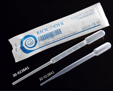 3ml, Length 160mm, total capacity 7.5ml, Graduated to 3ml, non sterile