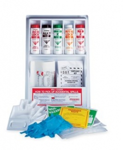 Safetec Hazardous Lab Spill Clean-Up Kit