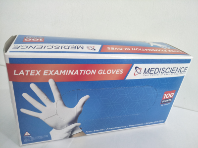 Glove Latex Powdered