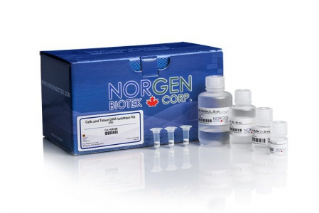 [NORGEN] Cells and Tissue DNA Isolation Kit - 4 Preps [SAMPLE PACK]