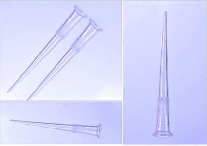 10uL Universal Pipette Tips, Clear, Bulk