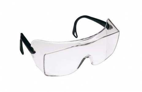 3M 12166 OX 2000 Over-The-Glass Safety Spectacle, Clear Lens (20pcs/ctn)
